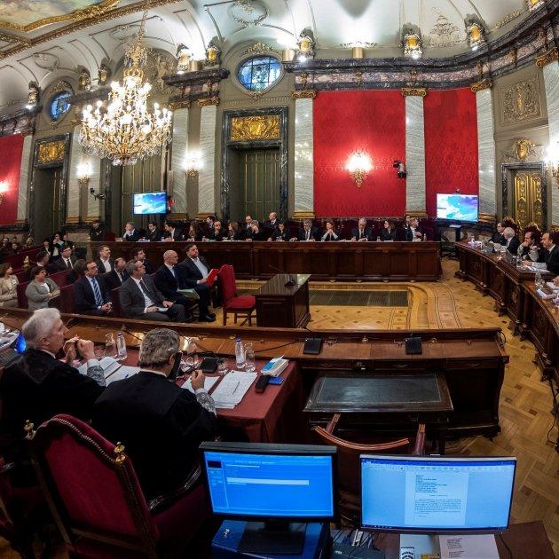 judici proces tribunal Suprem acusats i magistrats Efe