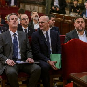 judici proces Forn Romeva Junqueras acusats Efe