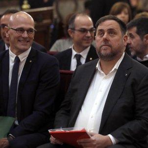judici proces Raül Romeva Oriol Junqueras Suprem Efe