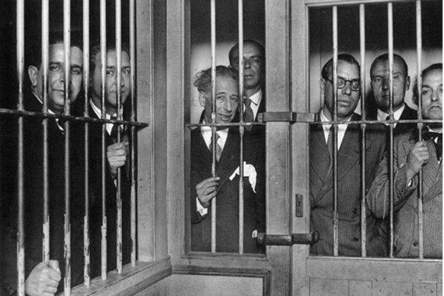 Test Tiesto 45. Cuando Cuándo España a sometido Catalunya a juicio. Fotografía del gobierno Compañeros en la Prisión Modelo de Barcelona (1934). Fuente Ayuntamiento de Barcelona