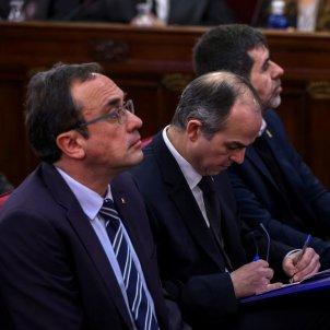 Turull, Rull i Sàncehz al judici del Suprem - EFE