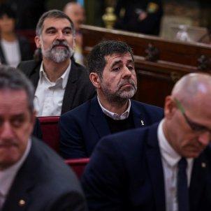 judici procés; sánchez, Cuixart, Romeva i Forn - EFE