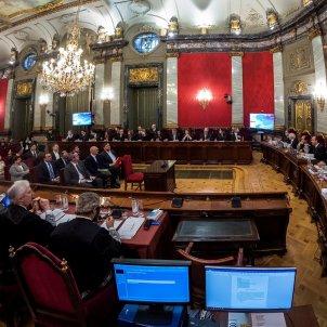 Judici procés; vista general de la sala del Suprem - EFE