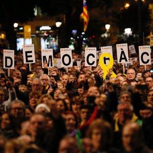 Manifestació inici judici Plaça Catalunya - Sergi Alcázar