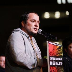 David Fernàndez manifestació inici judici procés plaça catalunya - Sergi Alcàzar