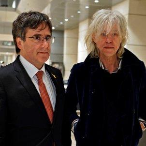 Carles Puigdemont Bob Geldof Berlin Cinema per la Pau Efe