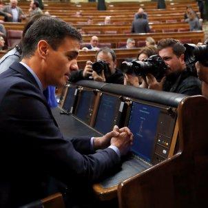 Pedro Sánchez presuposos EFE