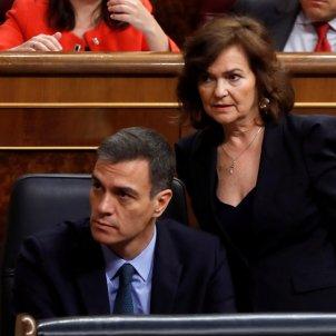 Pedro Sánchez i Carmen Calvo