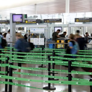 controls seguretat aeroport del Prat ACN