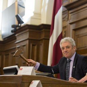 John Bercow President de la cambra dels comuns - Ernests Dinka/Saeima