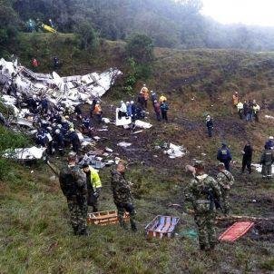 Accident avió Colòmbia - EFE