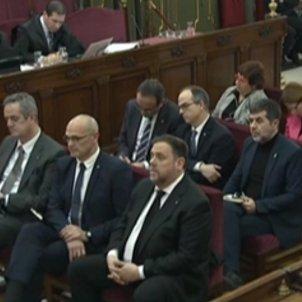 judici proces acusats junqueras romeva forn sanchez turull cuixart vila