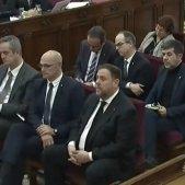 judici procés acusats - junqueras romeva forn sànchez turull rull cuixart forcadell bassa - captura pantalla senyal RTVE