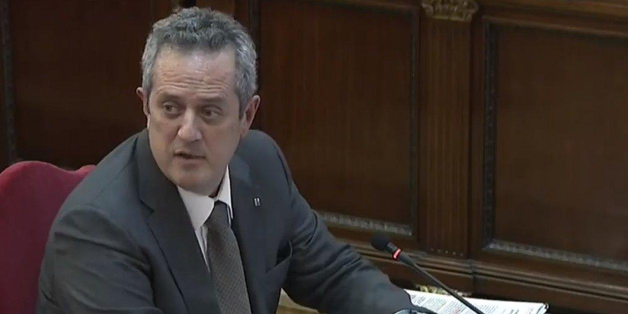 Judici Proces Joaquim Forn Declarant Retrat Tribunal