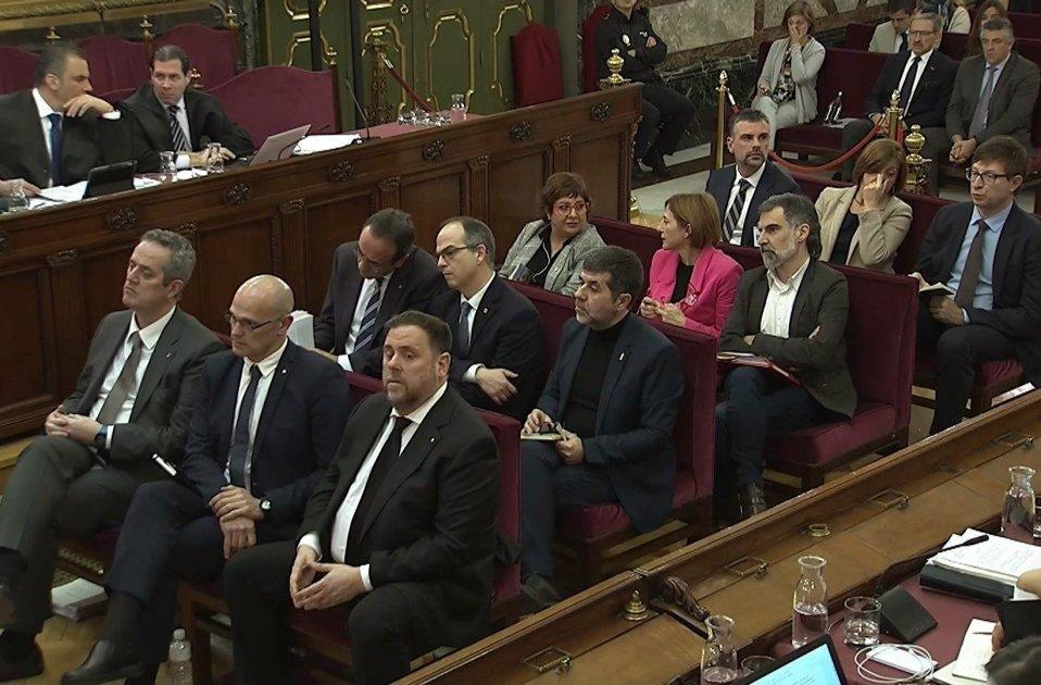 judici procés tercera sessió acusats 14 febrer 2019 EFE
