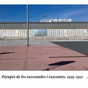 executats camp de la bota ajuntament de Barcelona