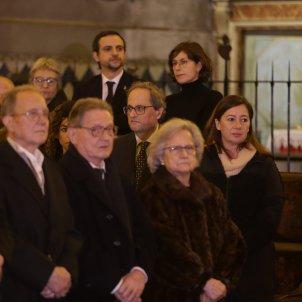 Quim Torra Francina Armengol funeral Aina Moll Europa Press