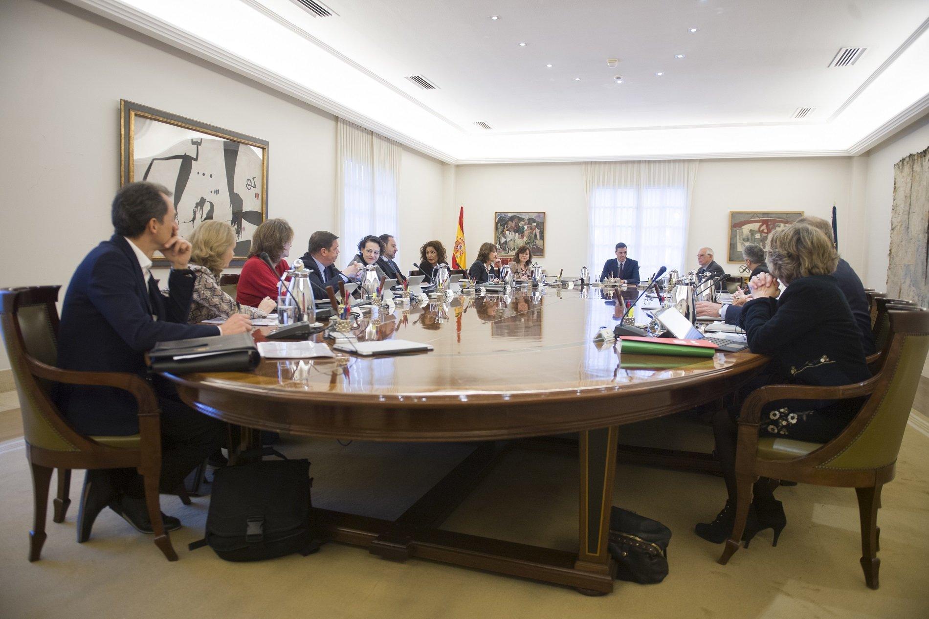 Consell Ministres Pedro Sánchez 2   Moncloa