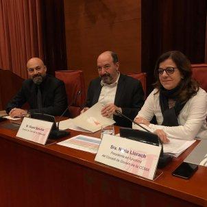Sanchis, Gordillo i Llorach comissió CCMA