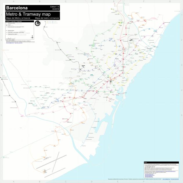 El metro de Barcelona como nunca lo habas visto