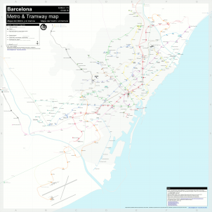 Mapa metro de Barcelona / Florence Jarrier