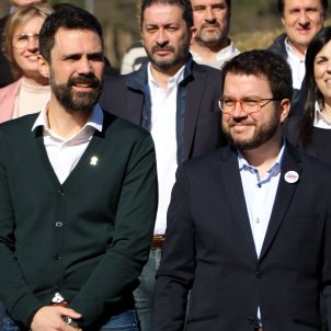 Roger Torrent Pere Aragonès Girona ACN