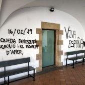 pintades espanyolistes monestir Amer ACN