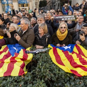 Manifestacio Gran Via Judici Proces estelada turistes - Sergi Alcazar