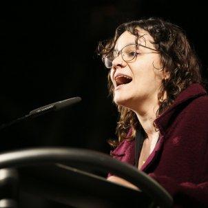 Manifestacio judici proces Gran Via Natalia Sanchez CUP - Sergi Alcàzar
