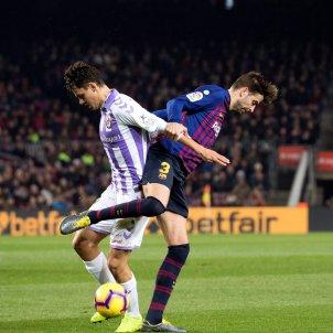 Pique Barca Valladolid EFE