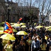 Manifestació Sant Sebastià EFE