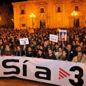 Protesta TV3 país valencià   Twitter Acció Cultural País Valencià