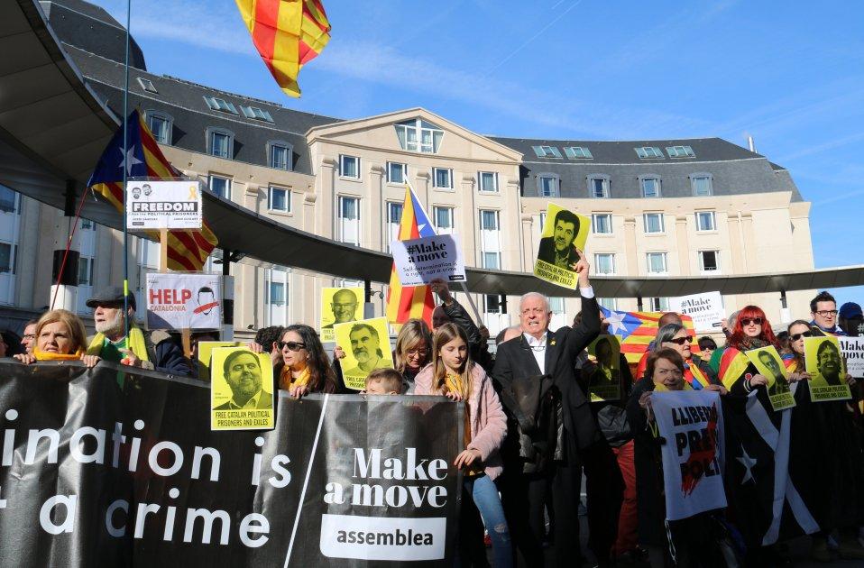 Manifestació Brussel·les ANC   ACN