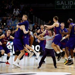Barca basquet Madrid Copa Rei EFE