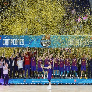 Barca Madrid Copa Rei basquet EFE