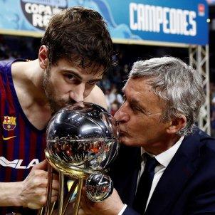Ante Tomic Svetislav Pesic Barça Reial Madrid EFE