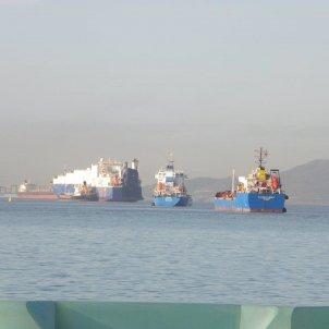 vaixells aigues territorials gibraltar EuropaPress