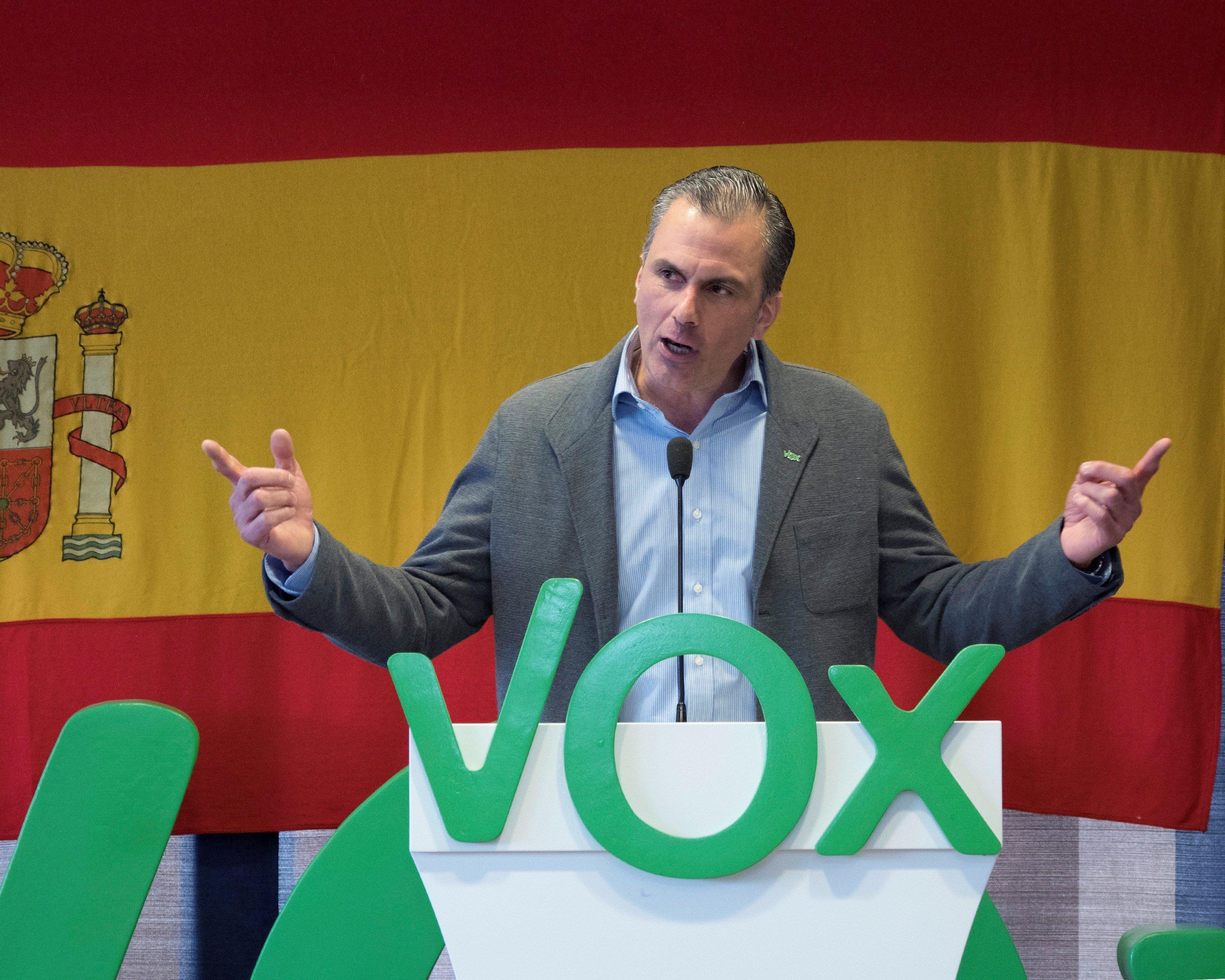Javier Ortega Smith Vox - EFE