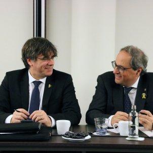 Carles Puigdemont i Quim Torra - ACN