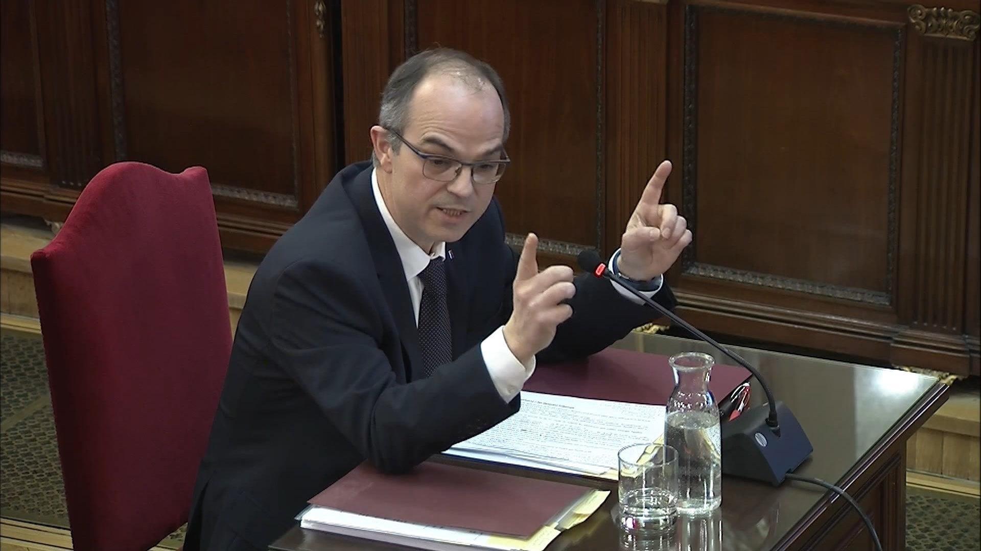 Judici procés Jordi Turull declaració quarta sessió 2   EFE