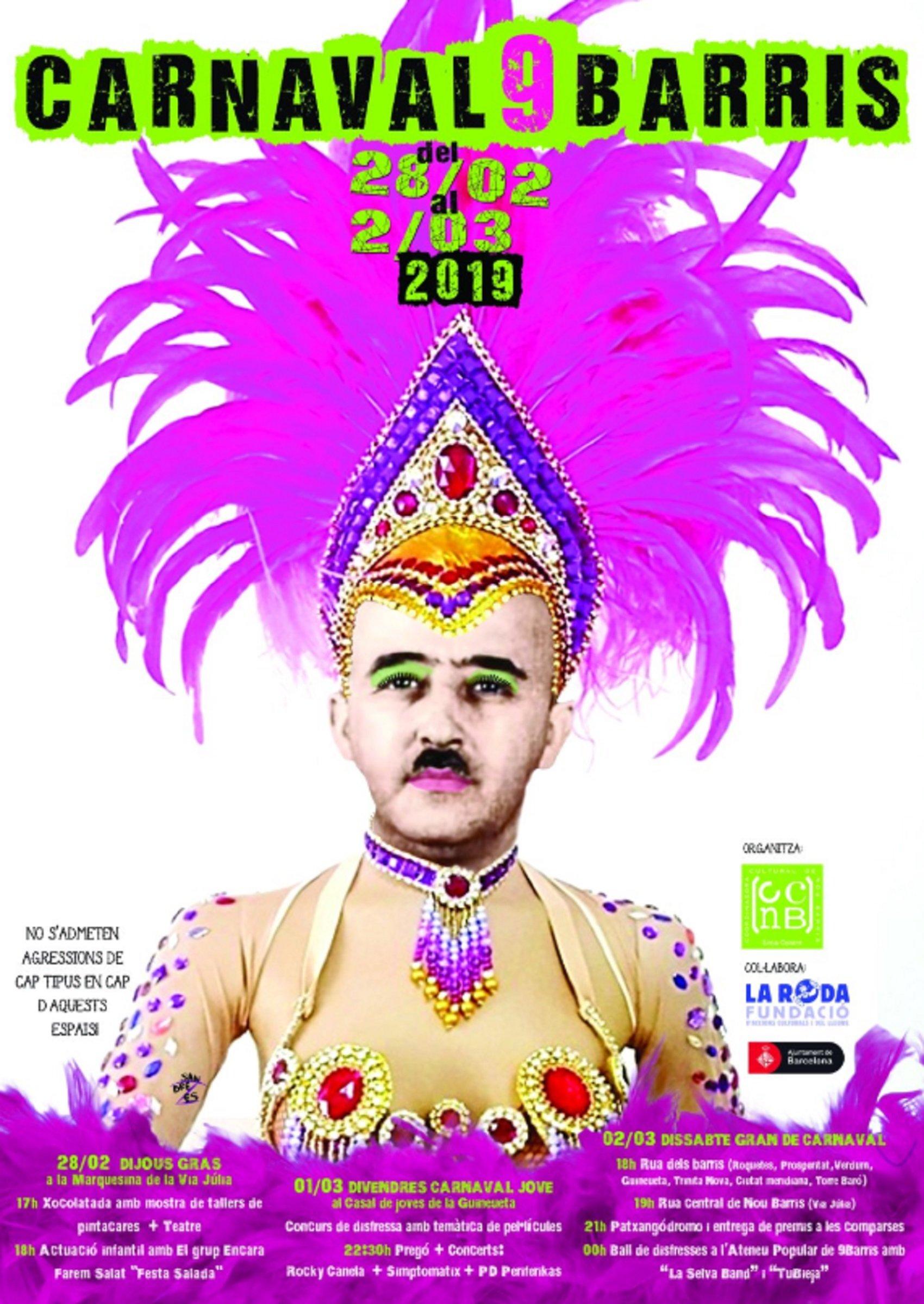 carnaval nou barris @xavartal