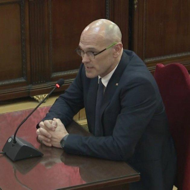 Raül Romeva Judici Procés - Acn