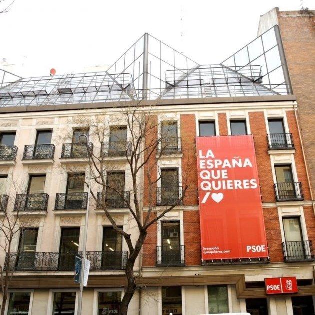 Lema La España Que Quieres Psoe Vox - Europa Press