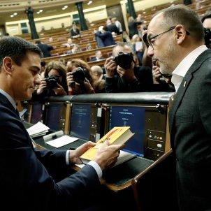 Pedro Sánchez Carles Campuzano Congres Diputats febrer 2019 EFE