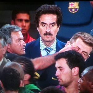 José Mourinho dit a l'ull Tito Vilanova Efe