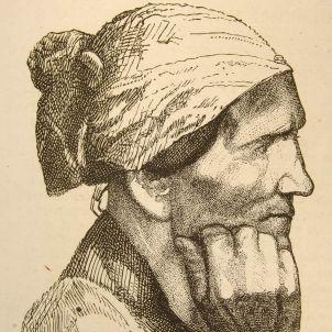 Gravat. Dona Agot (principis segle XIX)