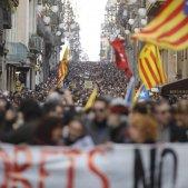 El NACIONAL vaga general 21 F carrer Ferran