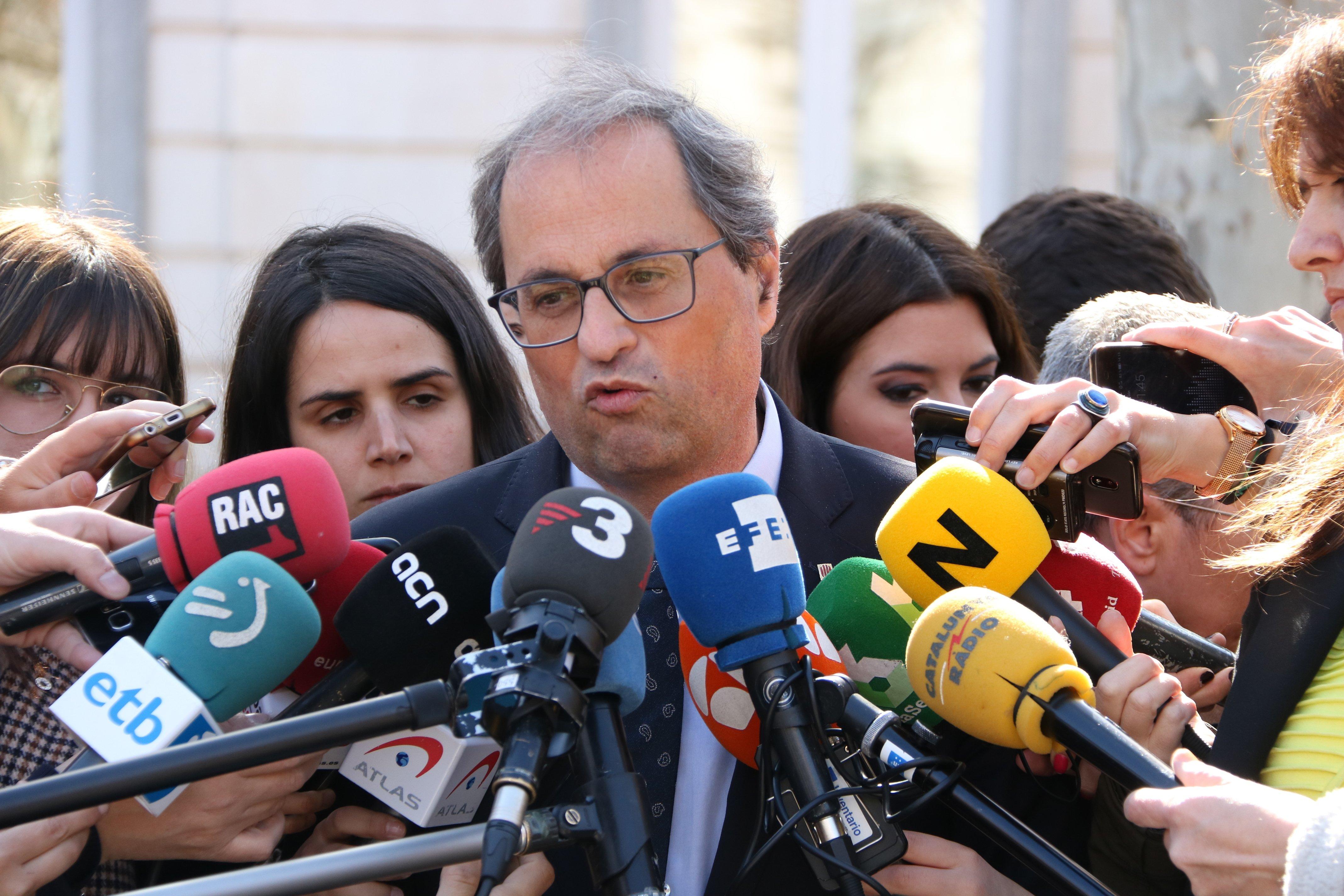 Judici procés president Quim torra - Nicolas tomas