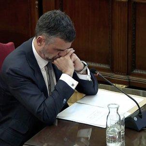 judici proces Santi Vila declaració Suprem EFE