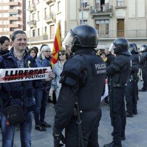 vaga general 21F Mossos d'Esquadra protesta Sants Barcelona EFE